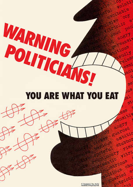 Politicians: You Are What You Eat!